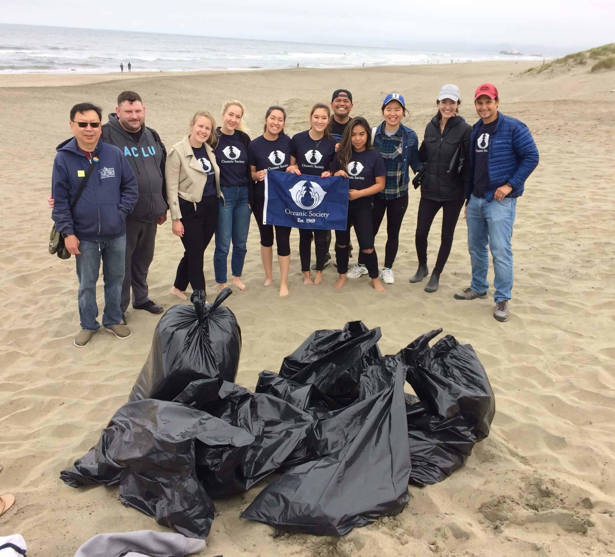 plastic pollution clean up california