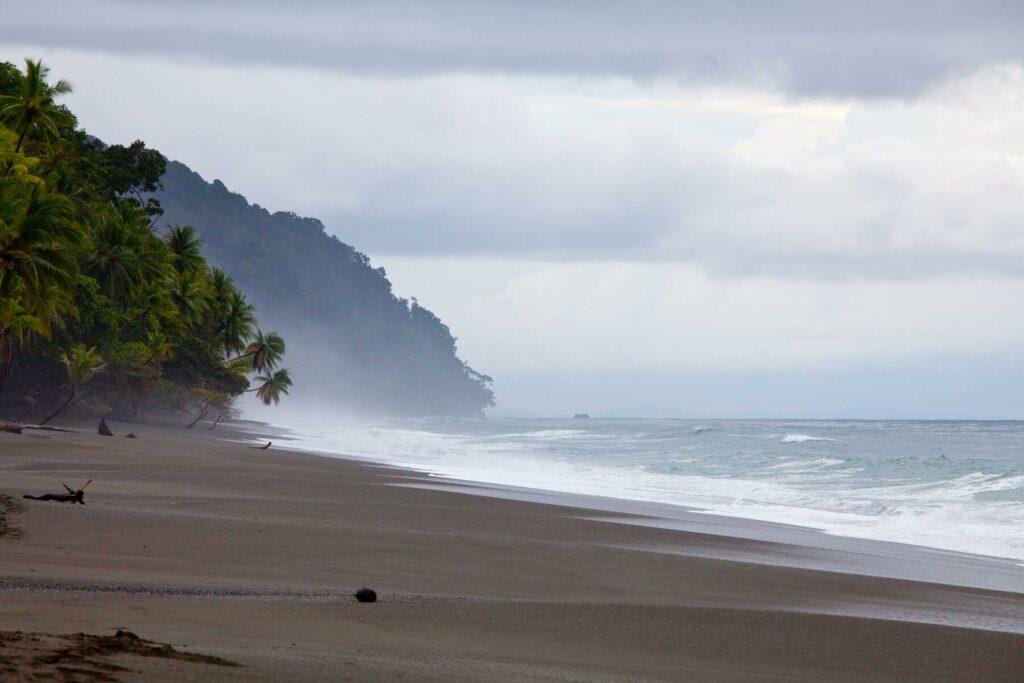 Costa rica pristine beach