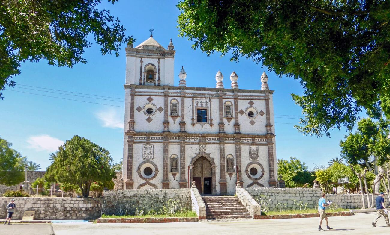 The mission in San Ignacio, founded 1728. © Roger Harris