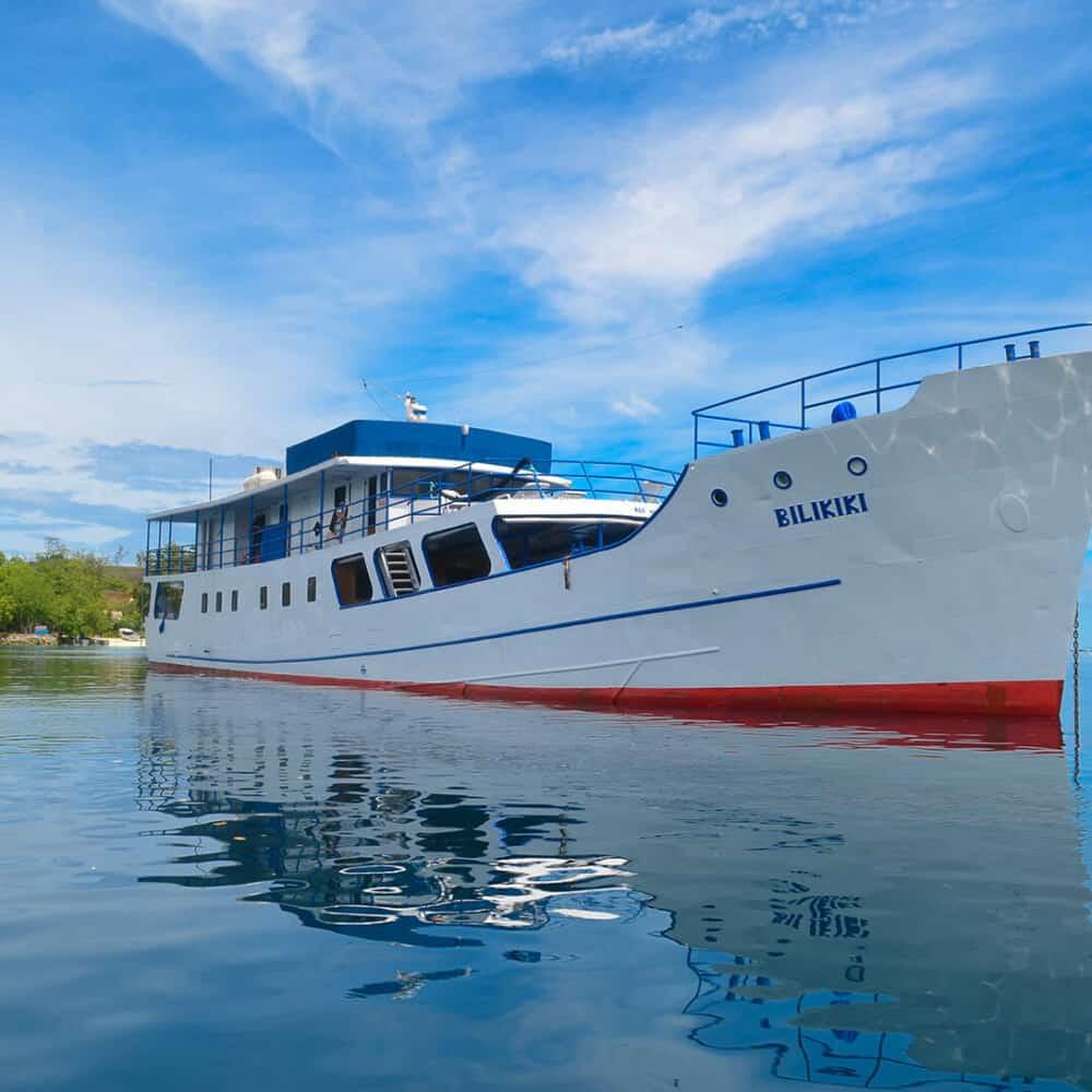 Bilikiki liveaboard ship