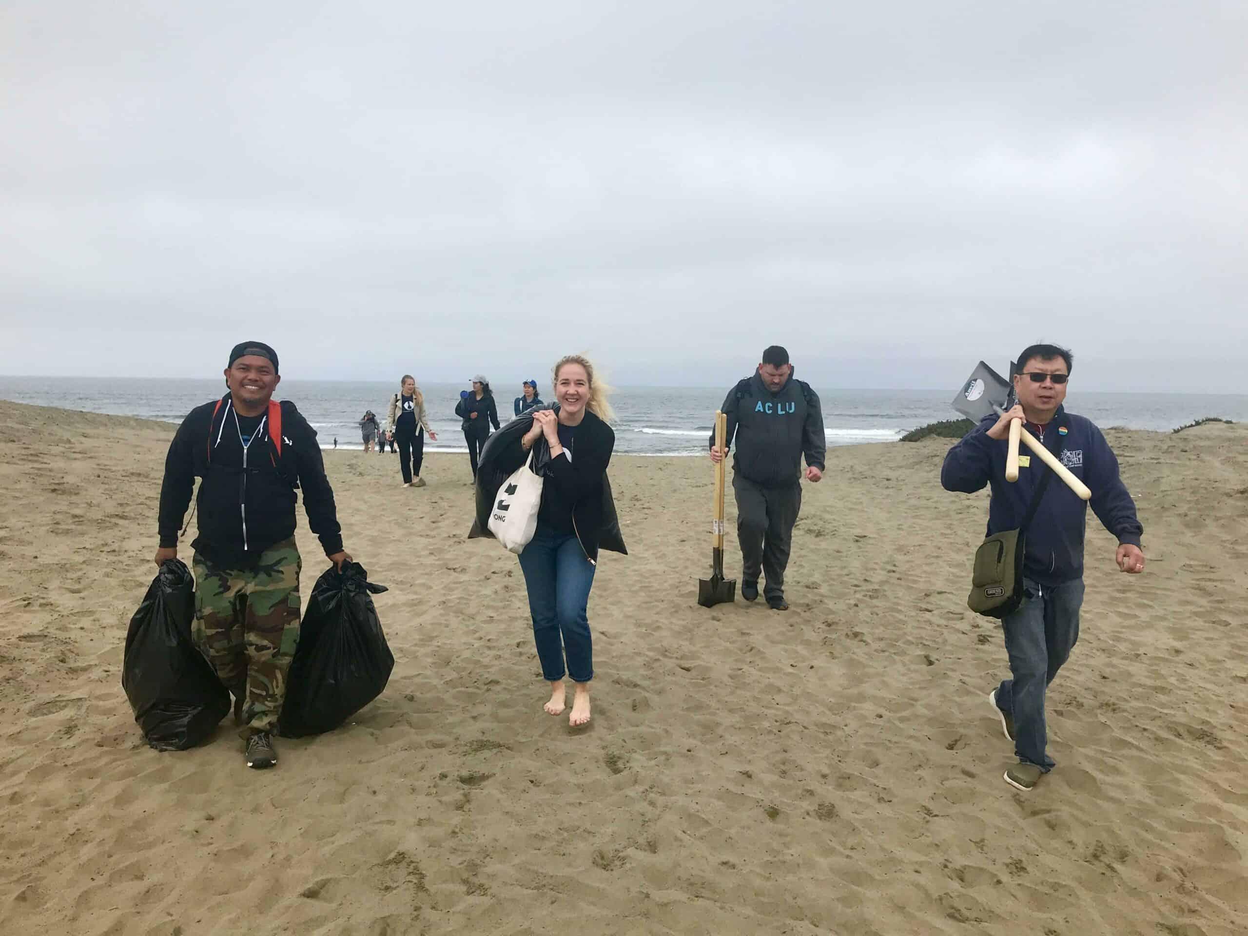 Ocean Beach clean up
