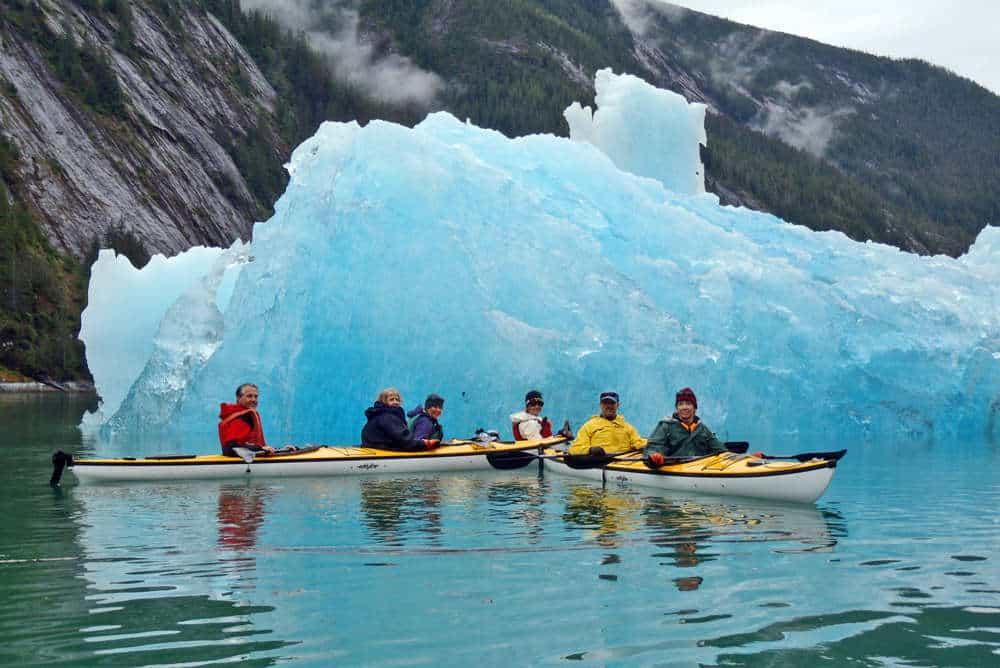 kayaking ice
