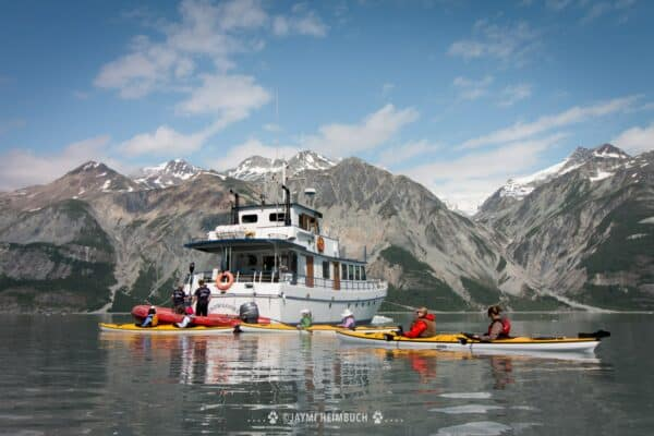 Alaska small cruise ship