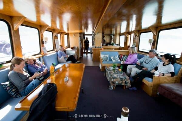 Alaska small cruise ship cabin