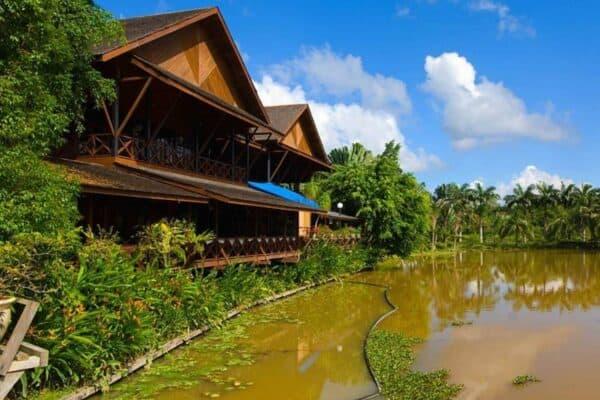 Borneo eco lodge