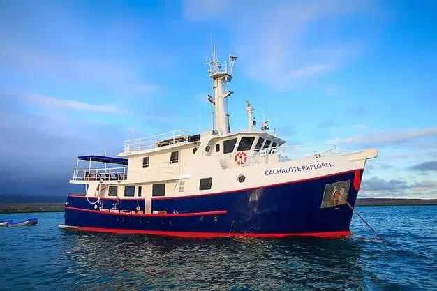 Cachalote Explorer Galapagos Cruise Ship