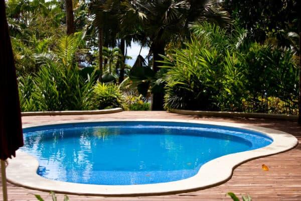 pool at eco hotel
