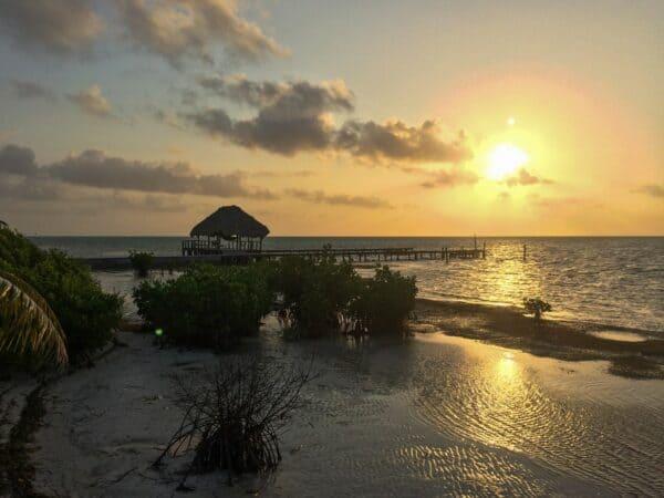 waterfront Belize