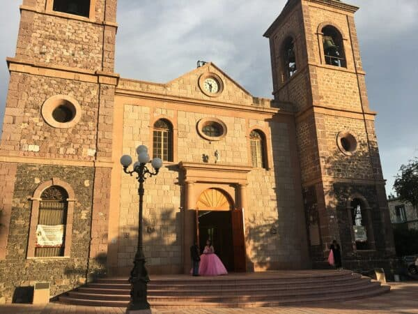 La Paz Mexico Church