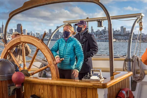 Cruising San Francisco Bay