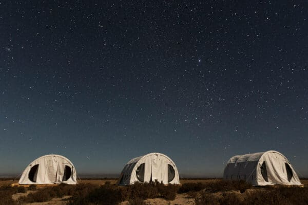 San Ignacio tent camp