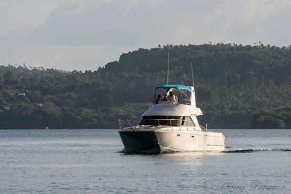tonga whale boat