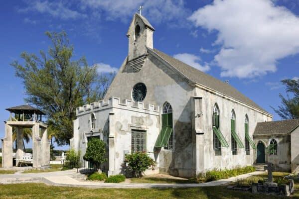 Bahamas historic church